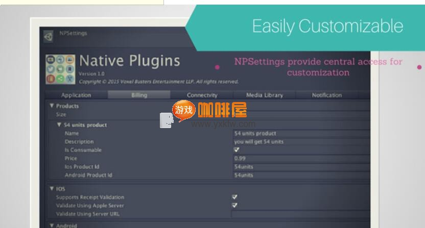 Unity3D Cross Platform Native Plugins 插件